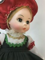 """Madame Alexander Doll Finland 561 Girl Friends From Foreign 8"""" Box Tag Dress"""
