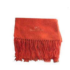 Alpaca Genuine Brushed Orange Alpaca Wool Scarf Hand Made in Ecuador & Peru