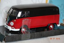 VW T1 Transporter rot-schwarz 1:24 Motormax neu & OVP 79342