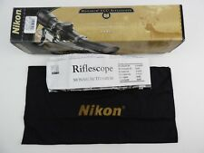 Empty Box for Nikon Monarch UCC Riflescope 6 x 42 w/ manual & cloth Nikoplex