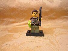 LEGO minifig minifigures mini fig series 12 Dinosaur Tracker Needle Bow Arrow