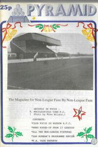 PYRAMID Issue No.9 (Non League Football Magazine) feat. Barrow