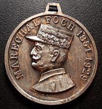 Maréchal Foch - Médaille - cinquantenaire de l'armistice 1918 / 1968 Compiègne