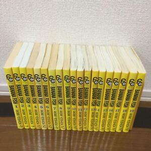 Banana fish whole volume set Anime manga comic 19 volume set
