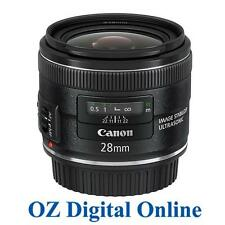NEW Canon EF 28mm f/2.8 IS USM f2.8 Wide Angle Prime for EOS 6D 5D 1 Yr Au Wty