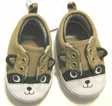 New GYMBOREE Size 01 Beige Crib Shoes