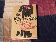 The Killing Man(HCwDJ) + The Deep(PB) by Mickey Spillane (LOT of 2) Vtg Fiction