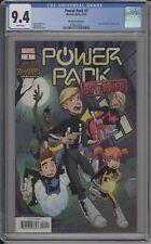 POWER PACK #1 - CGC 9.4 - MARTIN MARVEL ZOMBIES VARIANT - 3758212017