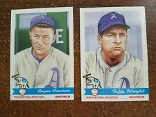 Cramer And Wright A's Baseball Cards Alex Stern Collection