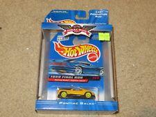 Hot Wheels 1999 Final Run Pontiac Salsa Yellow 1:64 MISB 1998