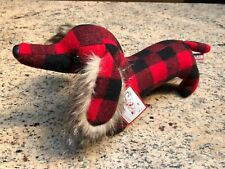 Griswold Plaid Dachshund By Douglas Toys New With Tags
