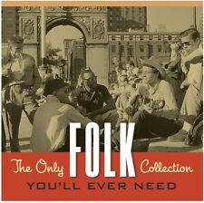 Only Folk Collection You'll Ever Need - 2 DISC SET - Various Art (2014, CD NEUF)