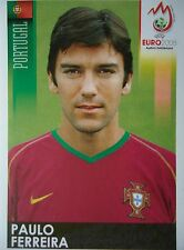 Panini 108 Paulo Ferreira Portugal UEFA Euro 2008