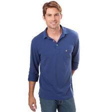 16d099b0 Southern Tide The Skipjack Beachside Polo Shirt Trim Fit L/s Blue N Cotton  Sz