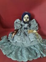 Sinisterly Sissy's 'Ali' Undead,Spooky,Creepy,Haunted,Goth, 17 inch