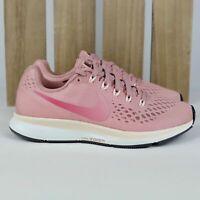 Nike Air Zoom Pegasus 34 Rust Pink Women's Running Shoes 880560 606 Size 6 *