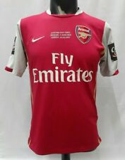 Arsenal League Cup final 2007 home shirt jersey red 2006-2008 Chelsea