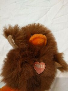 """Toys, Brown Duck Plush Sound Effects Stuffed Animal 5"""""""