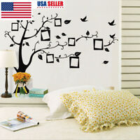 Vinyl Family Tree Wall Decal Mural Sticker DIY Art Removable Home Deco TDO
