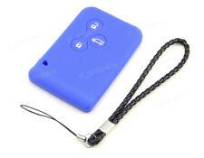 Black Silicone Case Cover For Renault Megane Scenic Laguna Remote Key 1BT RE1BBK
