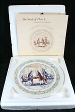 New ListingLimoges Collector Plate I 1973 Marquis de Lafayette Hand Painted Nib