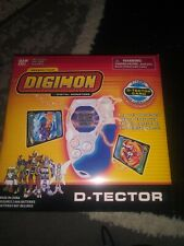 2002 BANDAI Digimon Digivice D-Scanner D-Tector Blue and white New Open Box Eng.