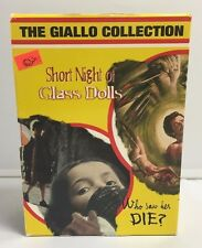 The Giallo Collection- 4 Disc Set- DVD