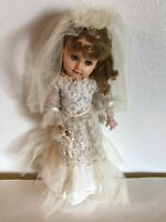 VTG Rare 1950s Madame Alexander Doll MADELINE Jointed Sleep Eyes Outfits include