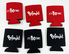 Lot of 6x Bojangles Famous chicken & Biscuits Its Bo Time Promo Beer Koozie Cozy