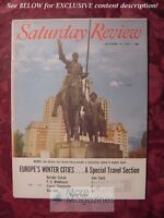 Saturday Review October 19 1957 P G WODEHOUSE EDITH HAMILTON BARNABY CONRAD