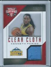 2014-15 Totally Certified Kenneth Faried Jersey /199
