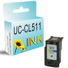 1 Colour Ink Cartridge For CL511 Pixma MP272 MP280 MP480 MP490 MP492 MP495
