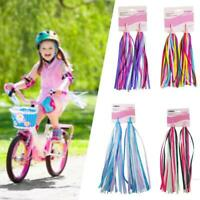 Kid Bike Streamers Colorful Ribbons Tassel  Scooter Handgrip 5 Color
