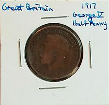 1917 Great Britain Half Penny - King George V