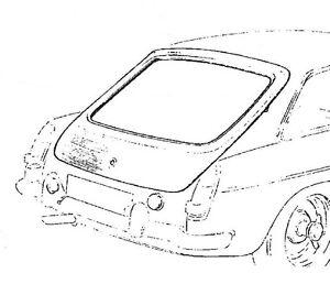 MG MGB MGC GT HATCHBACK SKIN HZA2003
