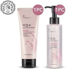 The Face Shop Rice Water Bright Cleansing Foam + Cleansing Oil Set
