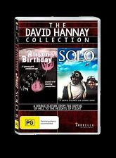 The David Hannay Collection - Alison's Birthday & Solo (DVD, 2015) New / Sealed