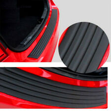 1PC Rubber Sheet Car Rear Guard Bumper 4D Stickers Panel Protector Accessories