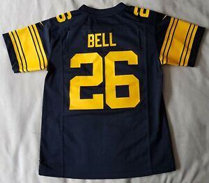 "# 26 BELL Pittsburgh Steelers NFL American Football Shirt Jersey - M Medium 32"""