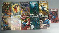 11pc Lot Set DC Comics Nightwing Superboy Justice League Batman 1990's Detective