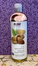 Now Solutions �� Sweet Almond Oil 100% Pure 16fl oz New Free Ship