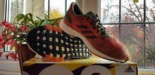 Adidas Pureboost DPR Lightweight Running Trainers Orange Khaki BNIBWT Size UK 9