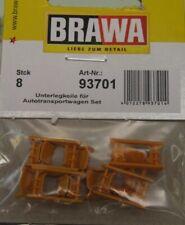 10St BRAWA 93700 Spur 0 Haken-Kupplungsset
