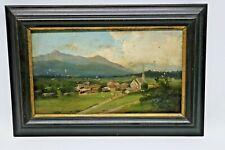 Altes Gemälde Tegernsee Bayern
