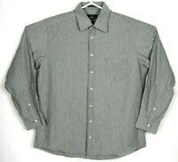 Sportscraft Mens Shirt Size XL Long Sleeve Button Front Regular Fit
