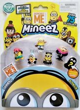 6 PACK MINION MINEEZ DESPICABLE ME 3 D NEW