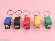Portable Keychain Mini Cute Stapler For Home Office School Paper binder bid15