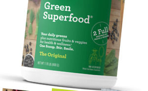 Amazing Grass Green Superfood: Super Greens Powder with Spirulina, Alfalfa, D...