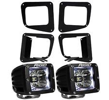 Rigid Radiance LED Fog Light Kit White Backlight for 14-17 Toyota Tundra 20200