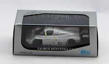 SAUBER MERCEDES C9 #63 SILVERPFEIL 1989 LIMITED EDITION SCALA 1/43 MODELS MAX